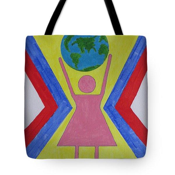 Women Rule The World Tote Bag by Sonali Gangane