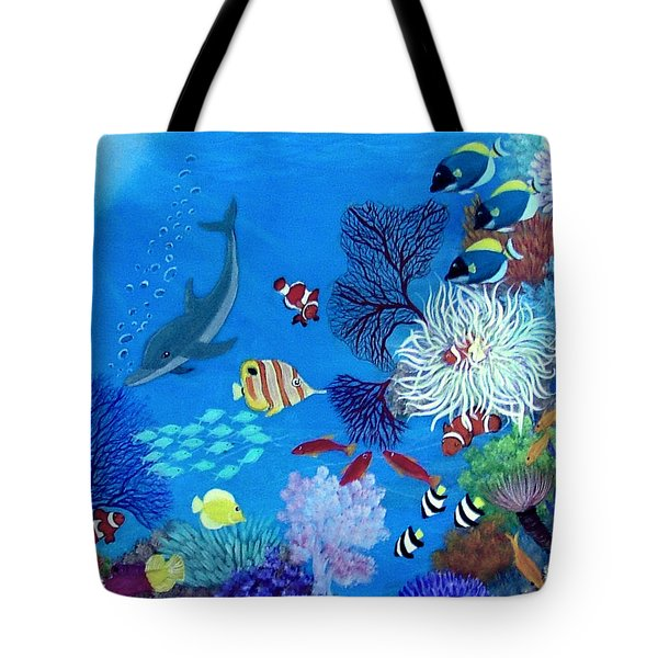 Wonder Down Under Tote Bag
