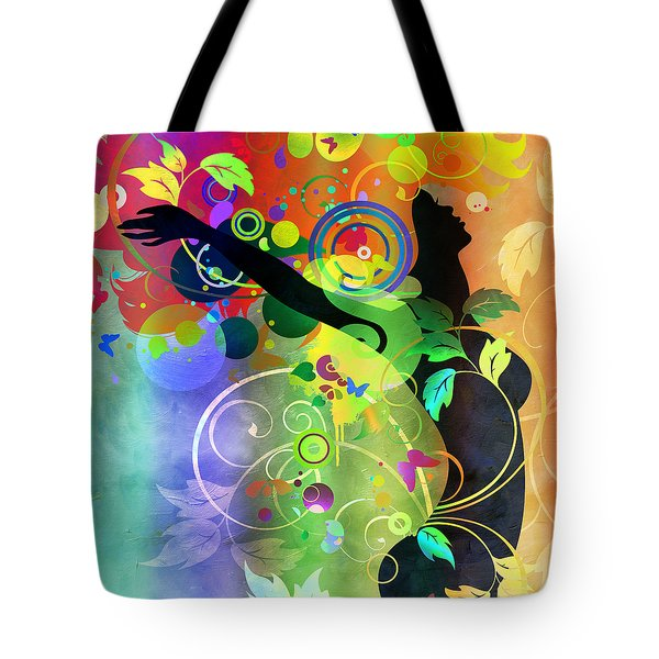 Wondrous 2 Tote Bag by Angelina Vick