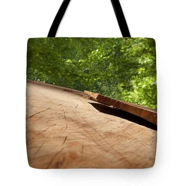 Wood Forest Tote Bag by Michael Mogensen