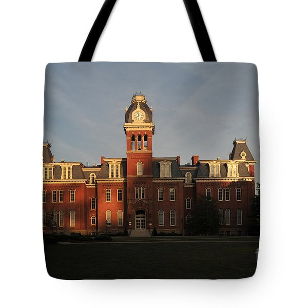 Woodburn In The Morning Tote Bag by Dan Friend