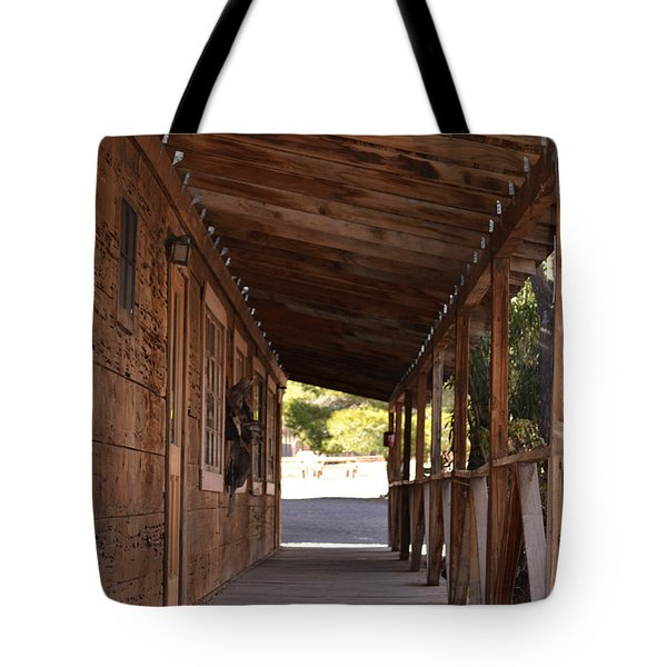 Wooden Walk Tote Bag