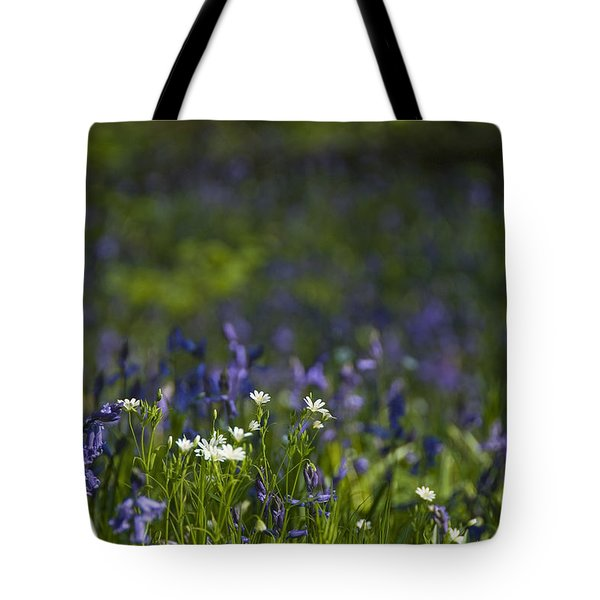 Woodland Flowers Tote Bag by Trevor Chriss