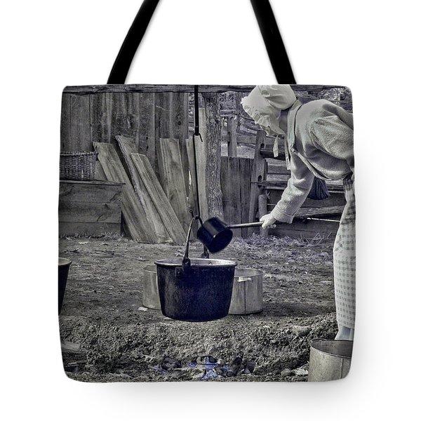 Working Girl Tote Bag by Joann Vitali