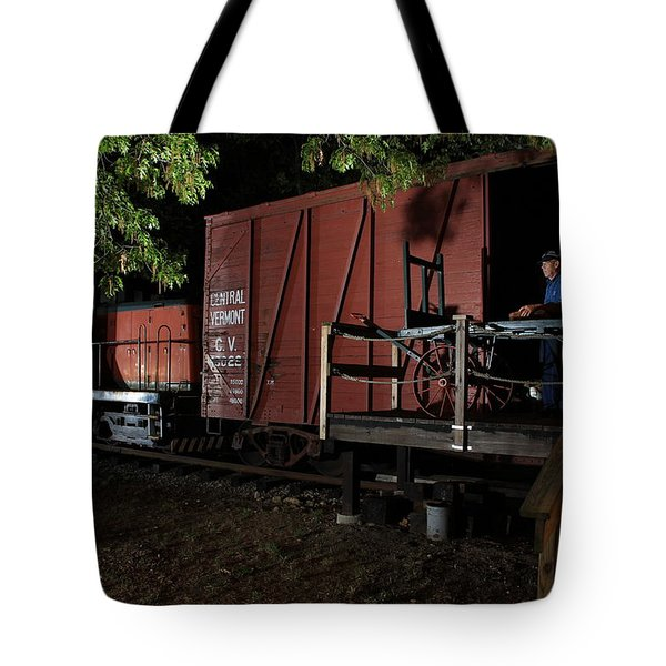 Working On The Railroad 2 Tote Bag