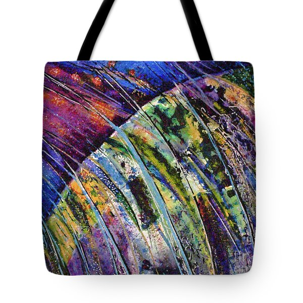 World In A Spin Tote Bag