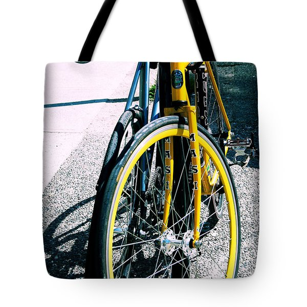 Worldly Cycle Tote Bag by JAMART Photography
