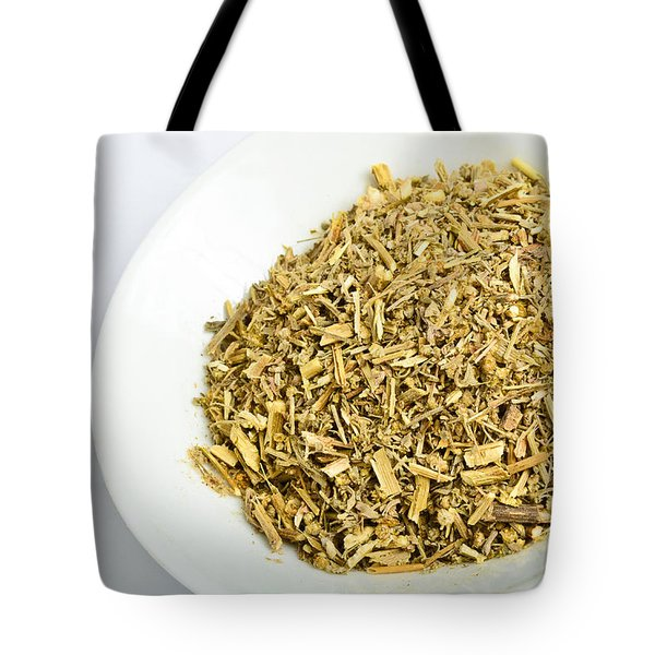 Wormwood Tote Bag by Photo Researchers