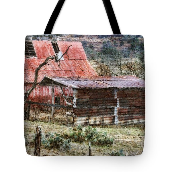 Tote Bag featuring the photograph Worn Out by Joan Bertucci