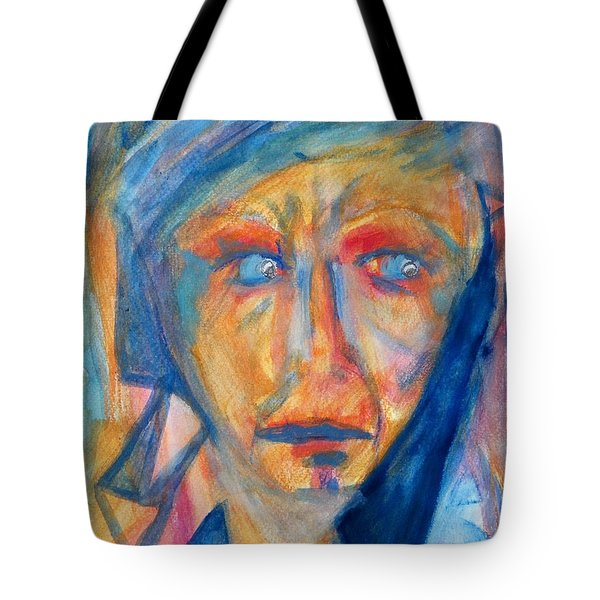 Worry - Weep - Scream Tote Bag