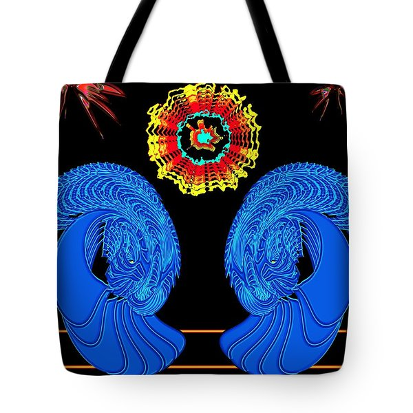 Worship Of The Dying Sun Tote Bag by Alec Drake
