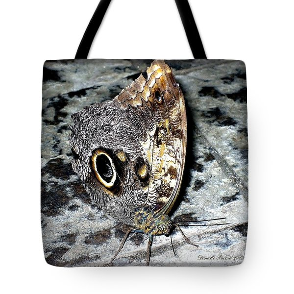 Wow Butterfly Tote Bag