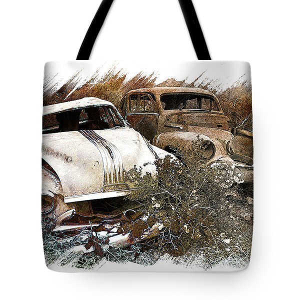 Wreck 3 Tote Bag