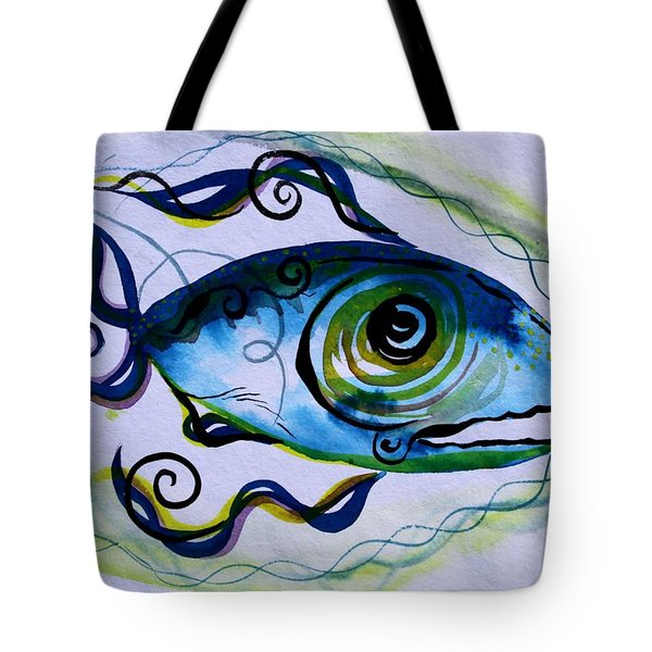 Wtfish 009 Tote Bag by J Vincent Scarpace