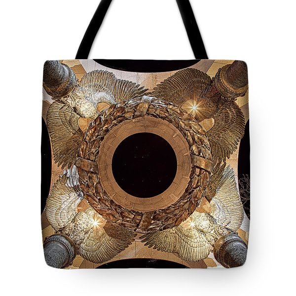 Ww II Memorial Victory Wreath Tote Bag