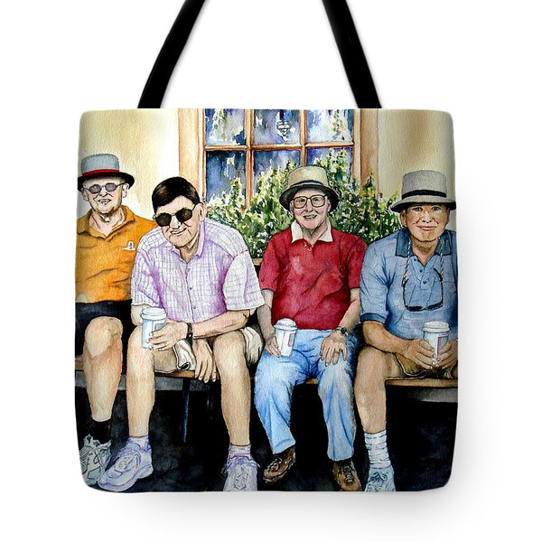 Wwii Heroes Tote Bag by Candy Yu