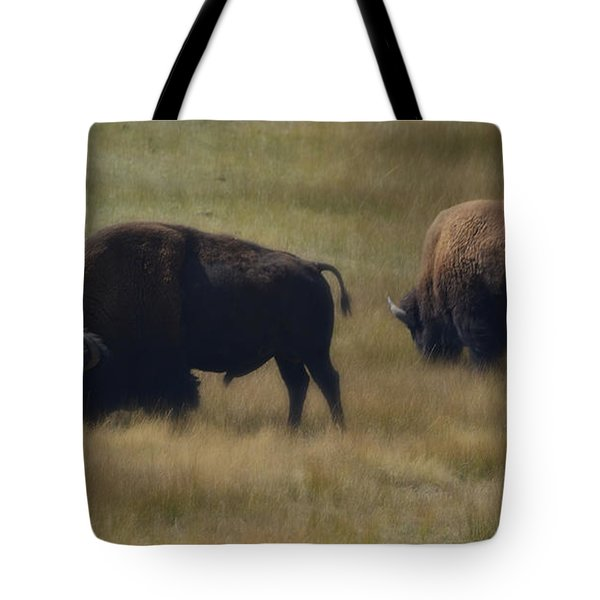 Wyoming Buffalo Tote Bag