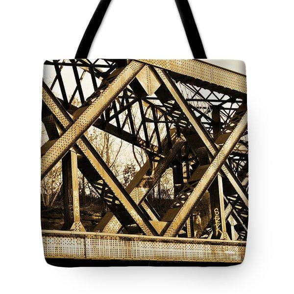 X-ing Tote Bag by Luke Moore