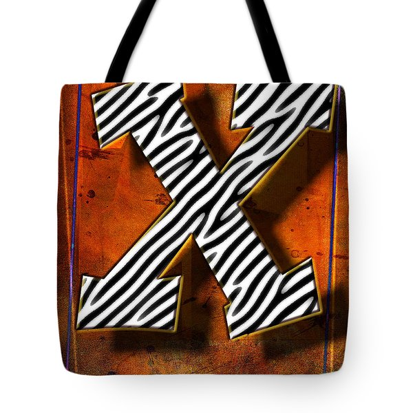 X Tote Bag by Mauro Celotti