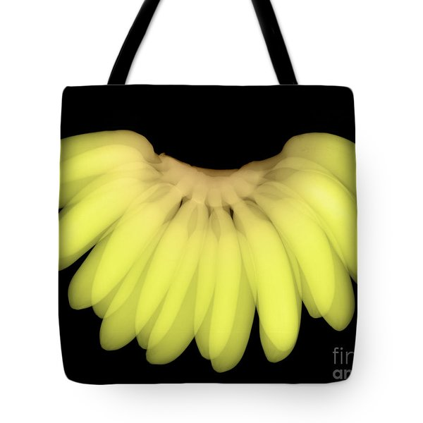 X-ray Of Bananas Tote Bag by Ted Kinsman