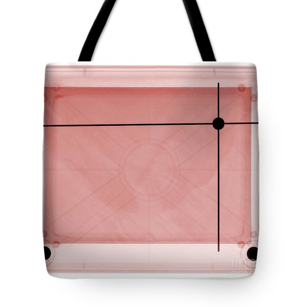 X-ray Of Etch A Sketch Tote Bag by Ted Kinsman