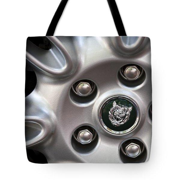 Xjs Wheel Tote Bag by Dennis Hedberg