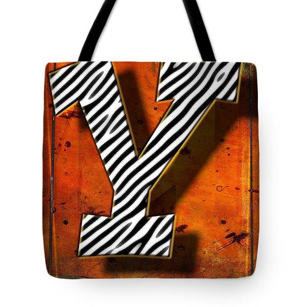 Y Tote Bag by Mauro Celotti