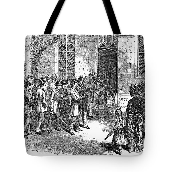 Yale College, 1876 Tote Bag by Granger