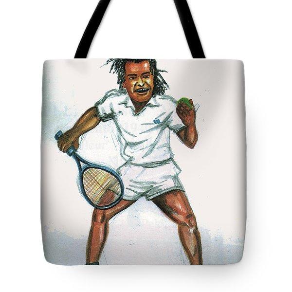 Yannick Noah Tote Bag
