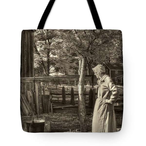 Yarn Dyeing Tote Bag by Joann Vitali