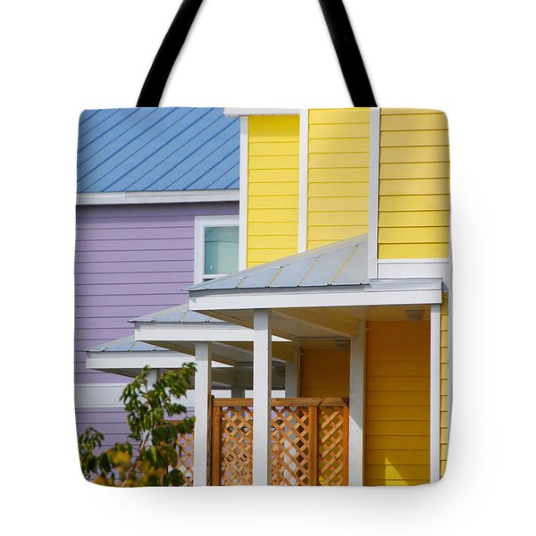 Yellow 3 Purple1 Tote Bag