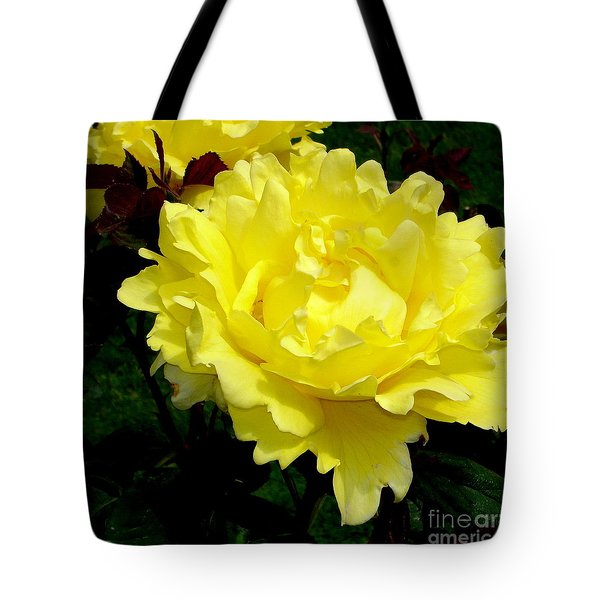 Yellow Beauty Tote Bag by Tanya  Searcy