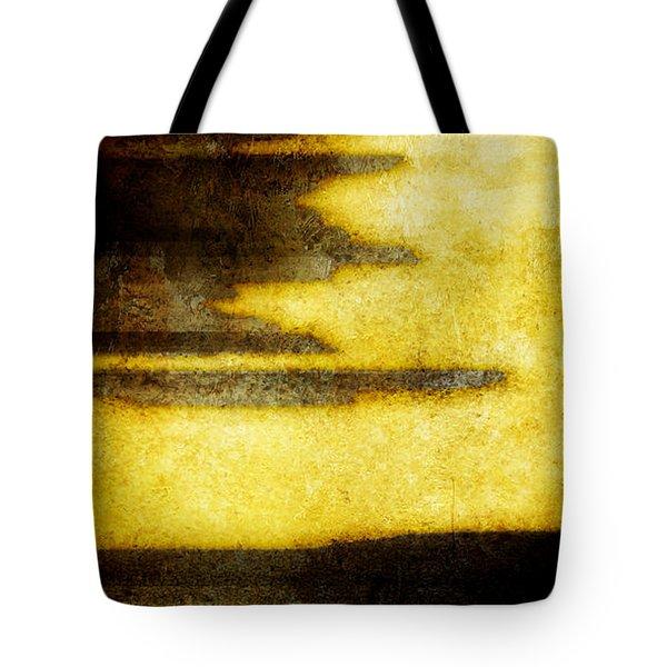 Yellow Tote Bag by Brett Pfister