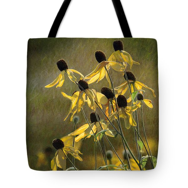 Yellow Coneflowers Tote Bag