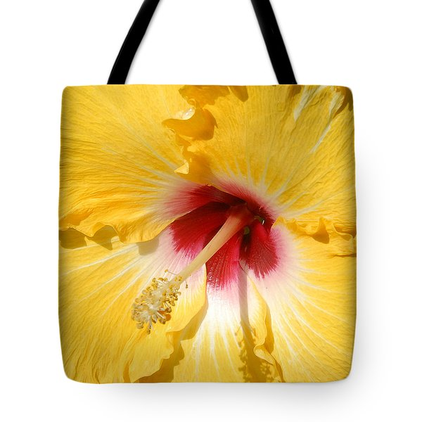 Yellow Fellow Tote Bag by Cindy Manero