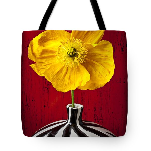 Yellow Iceland Poppy Tote Bag by Garry Gay