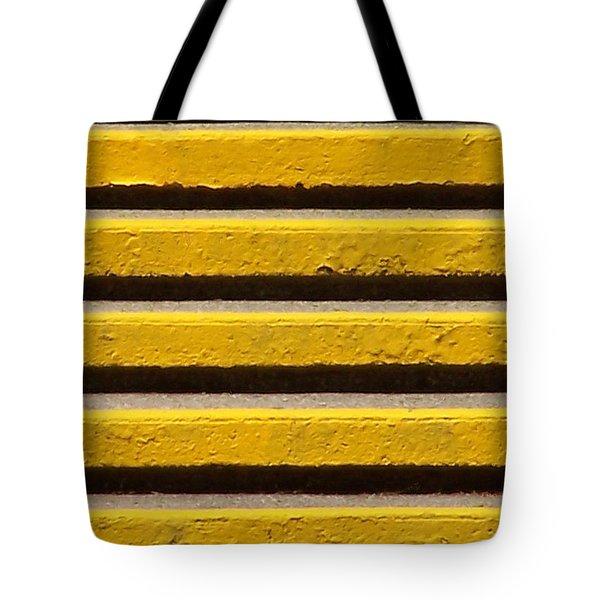 Yellow Steps Tote Bag