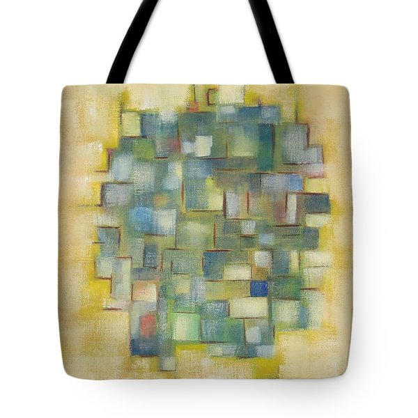 Yellow With Green  Tote Bag