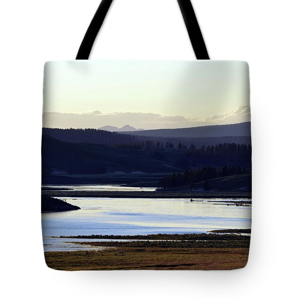 Yellowstone Landscapes Tote Bag