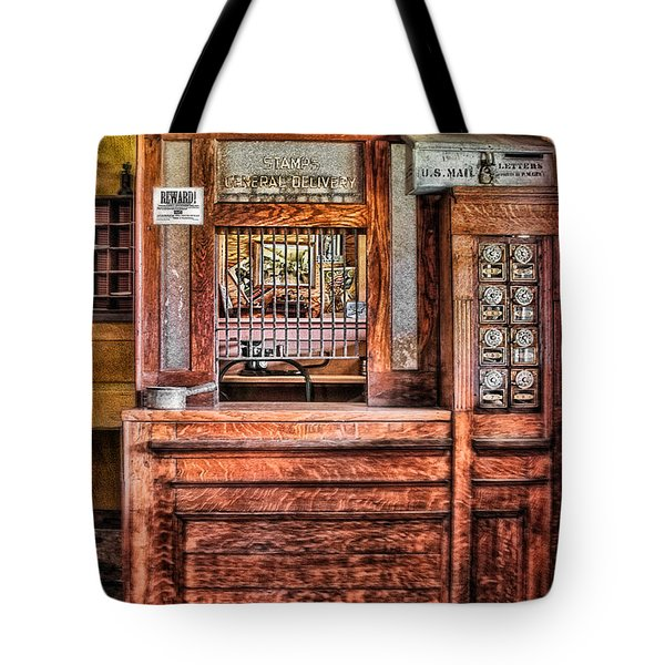 Yesterday's Post Office Tote Bag by Susan Candelario