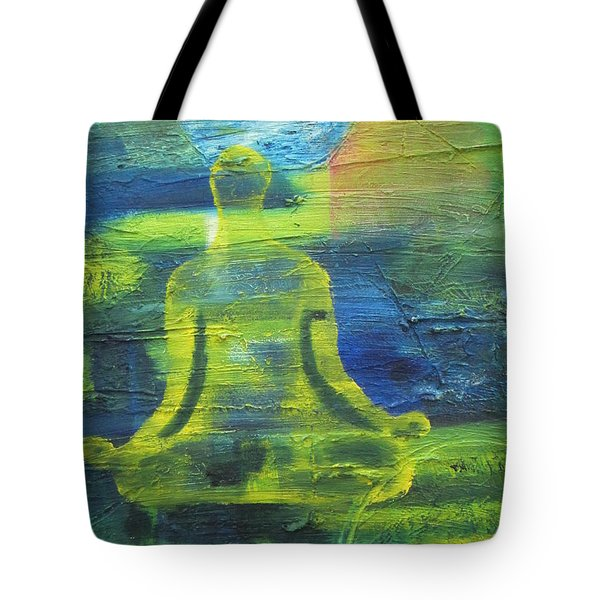 Yoga Textured Canvas Series I Tote Bag