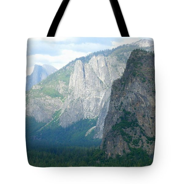 Yosemite Bridalveil Fall Tote Bag