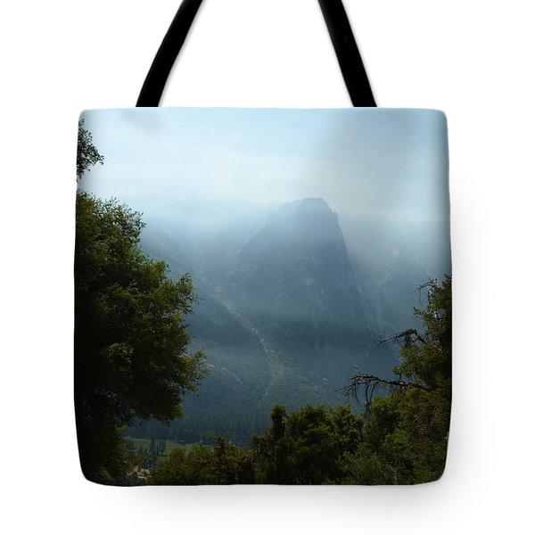 Yosemite Falls Hike Tote Bag