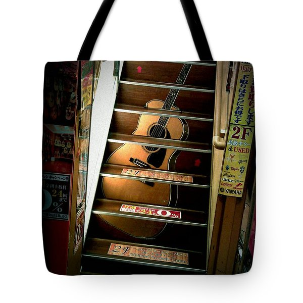 You Can Buy A Guitar Here Tote Bag