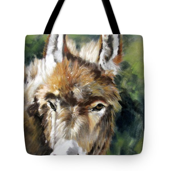 You Want To Pin The Tail On The What Tote Bag by Rae Andrews