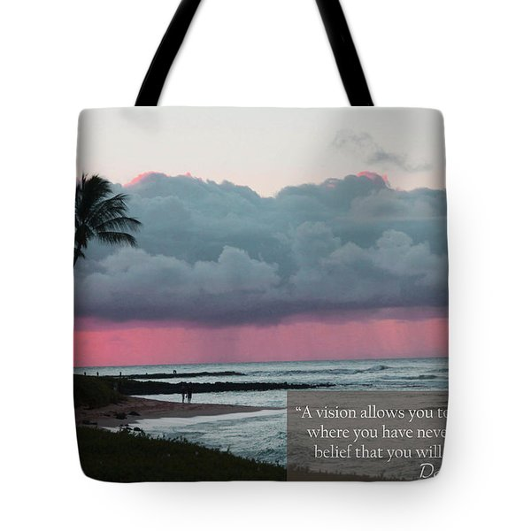 You Will Get There Tote Bag by Dana Kern