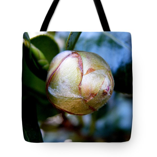 Young Camellia Tote Bag