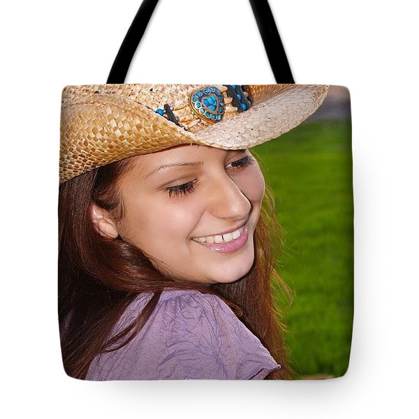 Young Jasmin Tote Bag