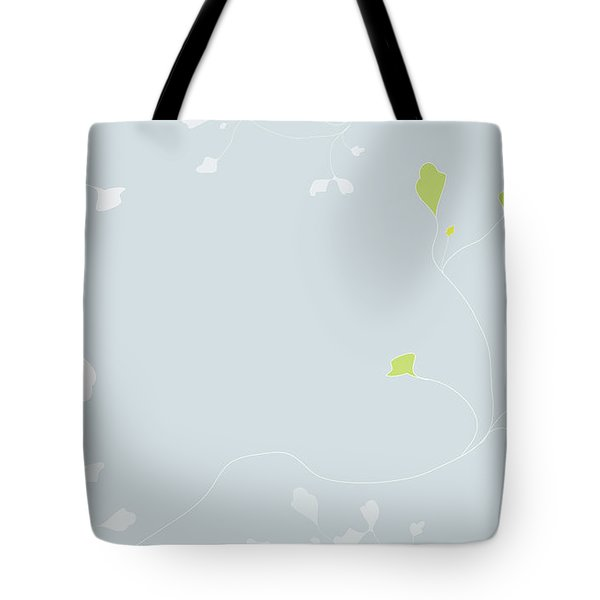 Tote Bag featuring the digital art Young Poppy by Kevin McLaughlin