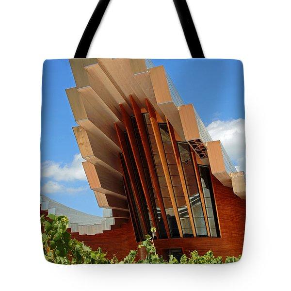 Ysios Winery Spain Tote Bag by John Stuart Webbstock